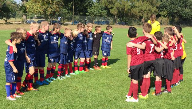 Auch heute freuten sich unsere Jungs wieder auf das Spiel und gingen von Beginn an hoch motiviert und konzentriert zu Werke.