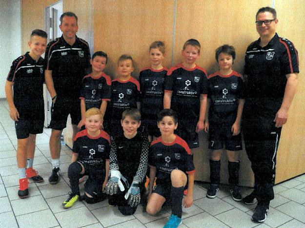Team B bestend aus: Jason, Jonas, Kian, Linus, Louis, Niklas K., Phil Jona und Tjard