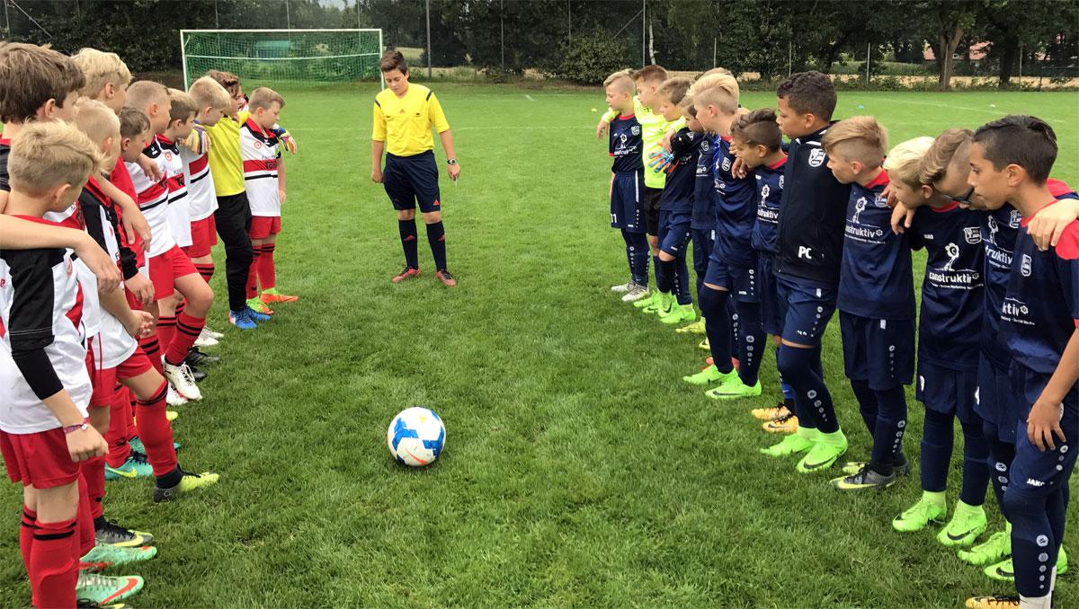 Der Moment, auf den wir in den letzten Wochen hingearbeitet haben: Start der Punktrunde mit unserem Heimspiel gegen den VfL Wildeshausen.