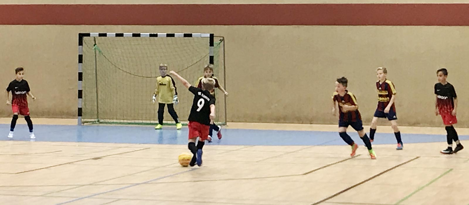 Viel Geduld brauchten wir im letzten Gruppenspiel gegen den FC Zetel. Diese zahlte sich aber gegen Ende der Partie aus.