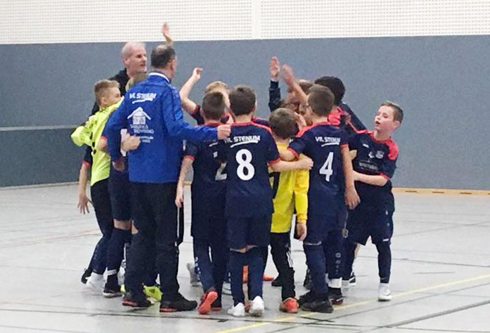 Hoch motiviert ging es in den Wintercup, bei dem wir mit zwei Mannschaften antraten, damit sich alle Jungs beim Heimspiel ordentlich austoben konnten.