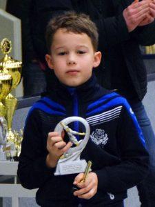 Als bester Spieler des Turniers wurde Boje Kautz vom TSV Ganderkesee ausgezeichnet.