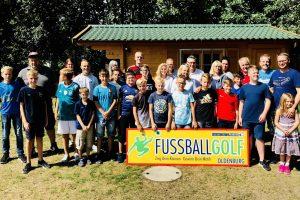 Unser D2-Familienausflug führte uns zum Fußballgolf nach Oldenburg, wo wir einen unterhaltsamen Vormittag verlebten.