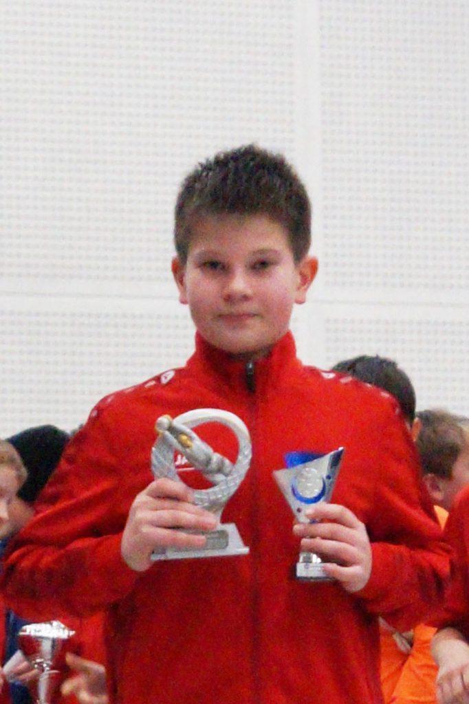 Als bester Torhüter des Turniers wurde Philipp vom Tus Hasbergen II gewählt und ausgezeichnet.